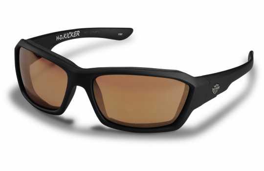 H-D Motorclothes Harley-Davidson Wiley X Glasses Kicker, bronze flash  - HAKIC06