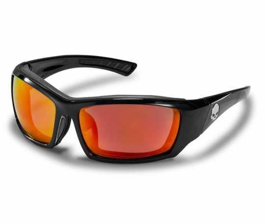 H-D Motorclothes Harley-Davidson Wiley X Brille Tattoo, rot verpiegelt  - HATAT13