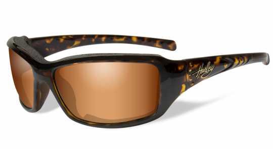H-D Motorclothes Harley-Davidson Wiley X Tori Sonnenbrille Marble Tortoise & bronze flash  - HATOR06