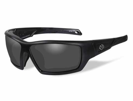 H-D Motorclothes Harley-Davidson Wiley X Sonnenbrille Backbone, grau getönt  - HDBAC01