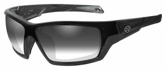 H-D Motorclothes Harley-Davidson Wiley X Sunglasses Backbone, photochromic grey  - HDBAC05