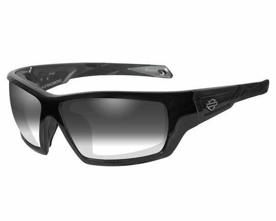 H-D Motorclothes Harley-Davidson Wiley X Sonnebrille Backbone, selbsttönend grau  - HDBAC05