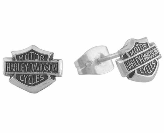 H-D Motorclothes Harley-Davidson Bar & Shield Earrings  - HDE0085