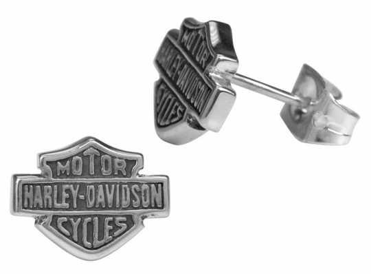 H-D Motorclothes Harley-Davidson Earring Bar & Shield  - HDE0231