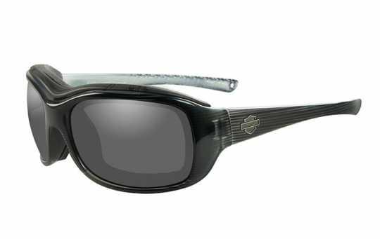 H-D Motorclothes Harley-Davidson Journey Damen Brille smoke | schwarz matt - HDJNY02