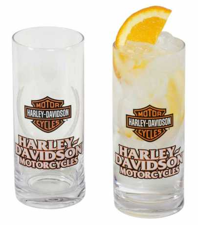 H-D Motorclothes H-D Motorcycle Highball Glass Set  - HDL-18804