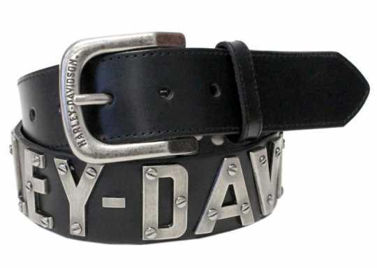 H-D Motorclothes Harley-Davidson Belt Men Metal Front  - HDMBT10636