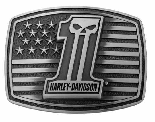 H-D Motorclothes Harley-Davidson Gürtelschnalle Uno Americana  - HDMBU10855