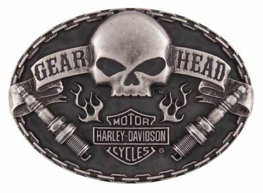 H-D Motorclothes Harley-Davidson Gürtelschnalle Gear Head  - HDMBU11501