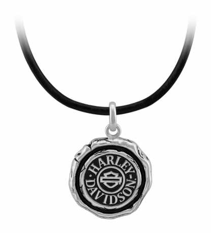 H-D Motorclothes Harley-Davidson Men's Necklace Wax Seal  - HDN0472-22