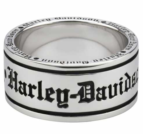 H-D Motorclothes Harley-Davidson Ring Old English Script Band 12 - HDR0481-12