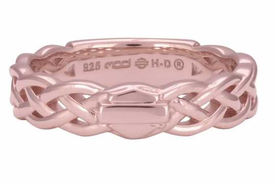 H-D Motorclothes Harley-Davidson Ring Braided Band Stackable  - HDR0500