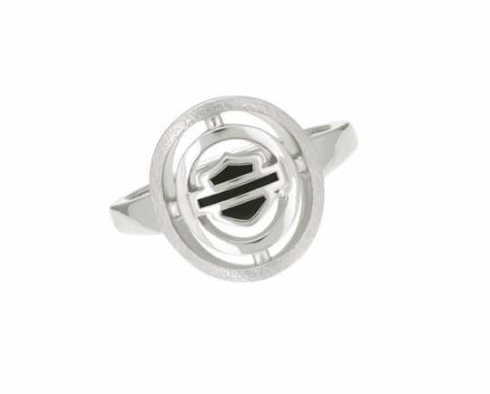 H-D Motorclothes Harley-Davidson Ring Bar & Shield Circle silver  - HDR0510