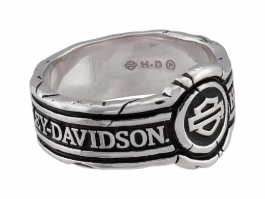 H-D Motorclothes Harley-Davidson Ring Men's Bar & Shield Wax Seal Band  - HDR0545