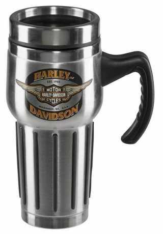 H-D Motorclothes Harley-Davidson Winged Bar & Shield Travel Mug  - HDX-98610