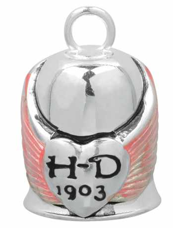 H-D Motorclothes Harley-Davidson Ride Bell Winged Heart  - HRB001