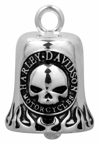 H-D Motorclothes Harley-Davidson Ride Bell Classic Willie Flame  - HRB005