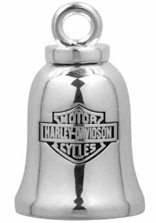 H-D Motorclothes Harley-Davidson Ride Bell Silver Bar & Shield  - HRB013