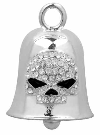 H-D Motorclothes Harley-Davidson Ride Bell White Crystal Skull  - HRB027