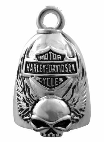 H-D Motorclothes Harley-Davidson Ride Bell Skull with Wings  - HRB038