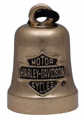 H-D Motorclothes Harley-Davidson Ride Bell Gold Bar & Shield  - HRB066
