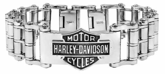 H-D Motorclothes Harley-Davidson Armband Bar & Shield Bike Chain Stahl  - HSB0146