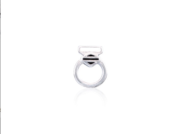 H-D Motorclothes Charm Engagement Ring  - HSC0022