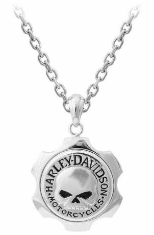 H-D Motorclothes Harley-Davidson Necklace Axel Skull  - HSN0056