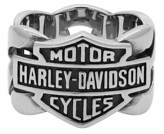 H-D Motorclothes Harley-Davidson Ring Chain Bar & Shield  - HSR0029V