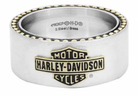 H-D Motorclothes Harley-Davidson Ring Vintage Bar & Shield  - HSR0047