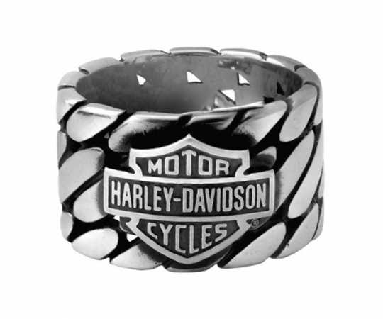 H-D Motorclothes Harley-Davidson Ring B&S Tread Band  - HSR0071