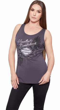 H-D Motorclothes Harley-Davidson Women's Tank Top Sky Feathers  - HT4490CGY