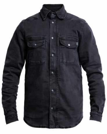 John Doe John Doe Motoshirt Denim Black  - JDL5012