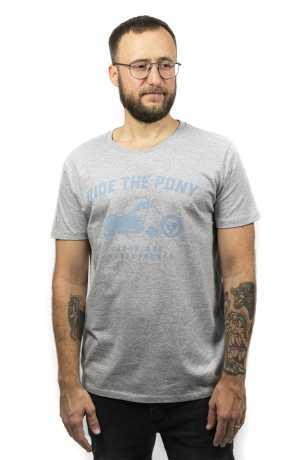 John Doe John Doe T-Shirt Ride The Pony grey  - JDS6029