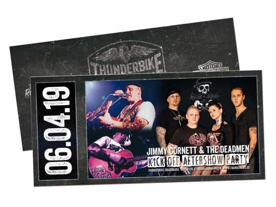 Thunderbike Konzertkarte Kick-Off 2019 mit Jimmy Cornett  - VORVERKAUF JAMNIGHT