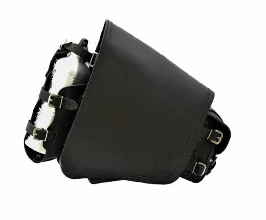 Deemeed Deemeed OutSider Courier Sidebag Black / Black stitching  - MA61.11.10.10