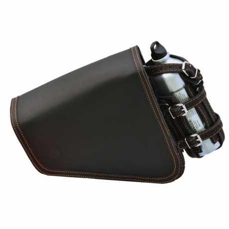 Deemeed Deemeed Outsider Vintage Sidebag Black / Orange stitching  - MA62.12.10.11