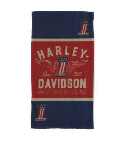 H-D Motorclothes Harley-Davidson Tube Headwear RWB #1 Wings  - MHW33893