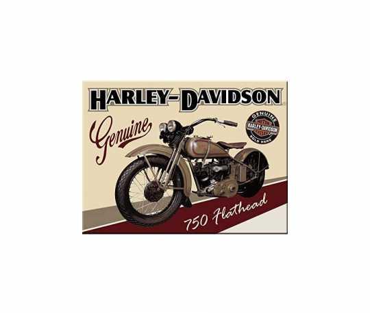 H-D Motorclothes Harley-Davidson Magnet Flathead  - NA14223