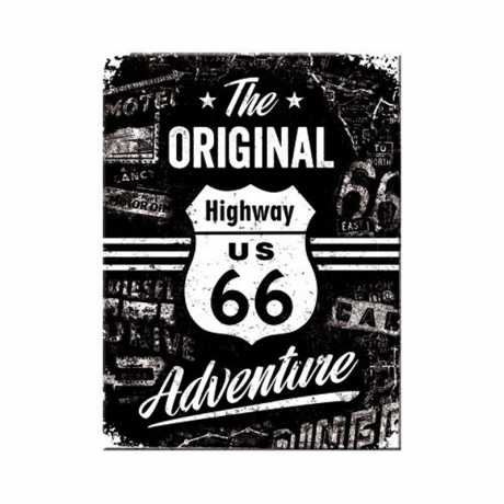 H-D Motorclothes Route 66 Magnet  - NA14331