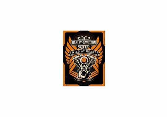 H-D Motorclothes Harley-Davidson Magnet Wild at Heart  - NA14347