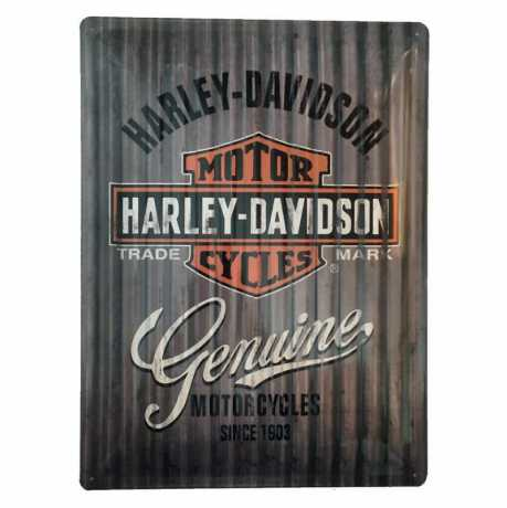 H-D Motorclothes Harley-Davidson Blechschild American Classic  - NA23250