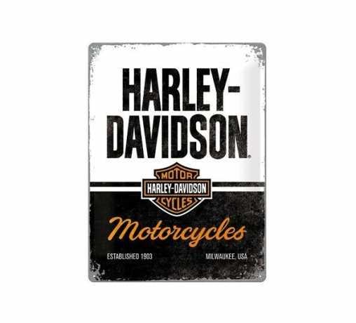 H-D Motorclothes Harley-Davidson Blechschild Motorcycles  - NA23266