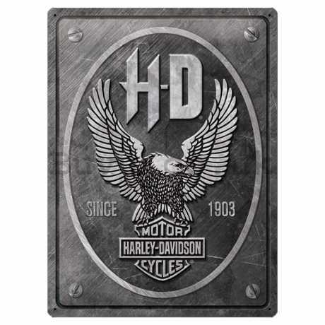 H-D Motorclothes Harley-Davidson Metal Sign Eagle  - NA23267