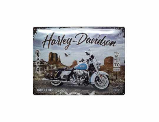H-D Motorclothes Harley-Davidson Metal Sign Canyon  - NA23291