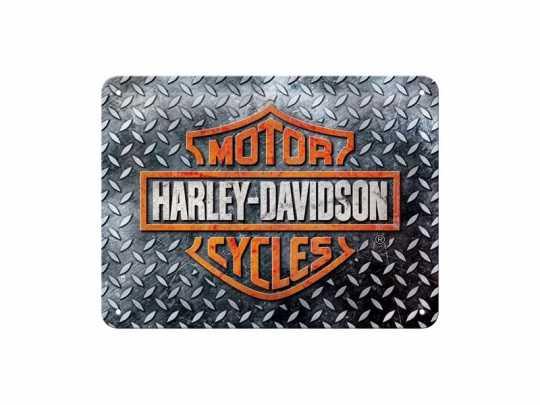 H-D Motorclothes Harley-Davidson Metal Sign Bar & Shield  - NA26250