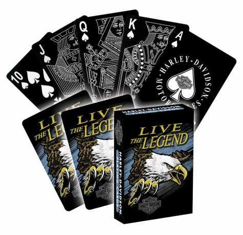 H-D Motorclothes Harley-Davidson Legend Plastic Cards  - NA630