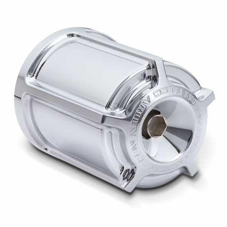 Arlen Ness Arlen Ness Beveled Oil Filter Housing, chrome  - 55-0010