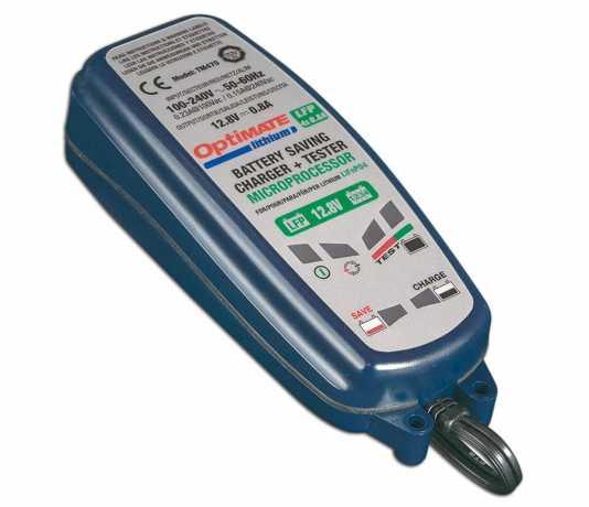 Optimate Optimate Lithium Batterieladegerät 12 V / 0,8 A  - 60-7677