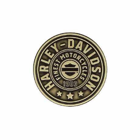 H-D Motorclothes Harley-Davidson Pin Antiqued Bronze  - P278682